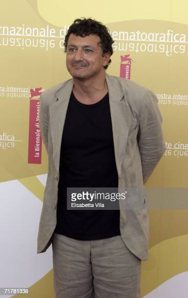 Italian actor Valerio Binasco attends the photocall to promote the film 'Non Prendere Impegni Stasera' during the sixth day of the 63rd Venice Film...
