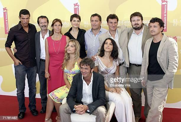 Italian actors Alessandro Gassman Rocco Papaleo producer Camilla Nesbitt Paola Cortellesi producer Paolo Valsecchi actors Giorgio Tirabassi Giuseppe...