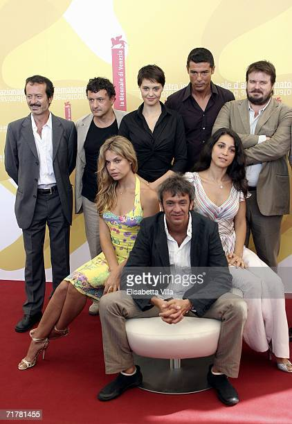 Italian actors Rocco Papaleo Valerio Binasco Paola Cortellesi Alessandro Gassman and Giuseppe Battiston actress Micaela Ramazzotti director Gianluca...