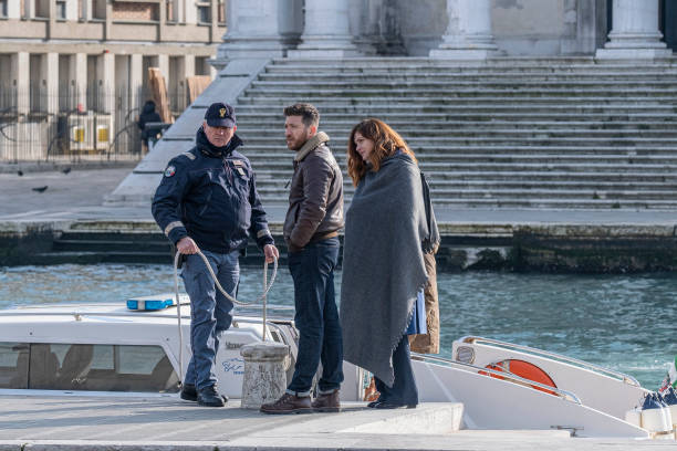 "ITA: ""Non Mi Lasciare"" Fiction Shooting In Venice"