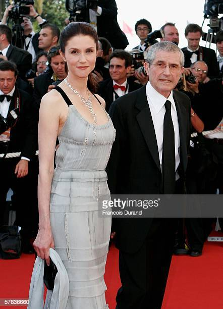 "Italian actress Alessandra Martines and husband French director Claude Lelouch attend ""The Da Vinci Code"" World Premiere & Opening Gala at the Palais..."
