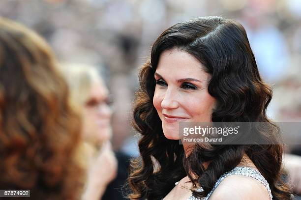 Italian actress Allessandra Martines attends the Inglourious Basterds Premiere held at the Palais Des Festivals during the 62nd International Cannes...