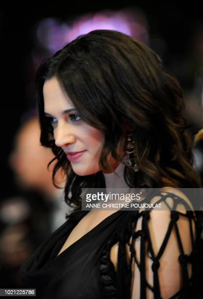 Italian actress and director Asia Argento arrives for the screening of Vincere directed by Marco Bellocchio in competition at the 62nd Cannes Film...
