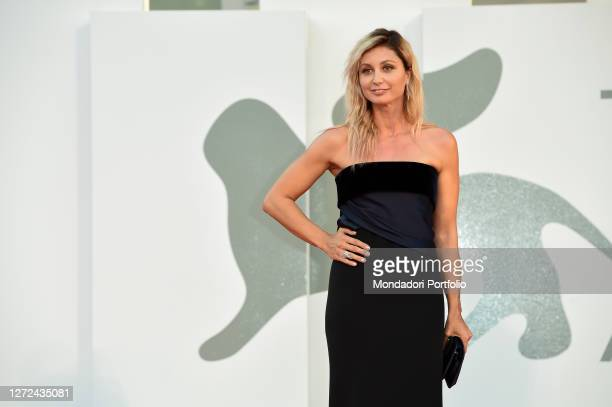 Italian actress Anna Ferzetti at the 77 Venice International Film Festival 2020 Closing ceremony red carpet Venice September 12th 2020
