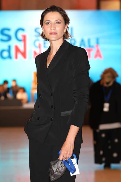 """ITA: Anna Foglietta Attends The """"Stati Generali Della Natalità"""" (General State Of Birthrate)"""