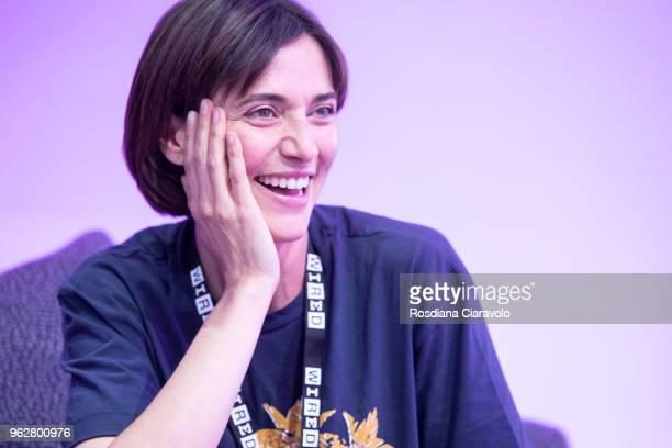 Italian actress Anna Foglietta attends Wired Next Fest on May 26 2018 in Milan Italy