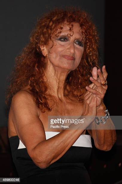 Italian actress Anna Mazzamauro at the award ceremony of the 32nd Torino Film Festival