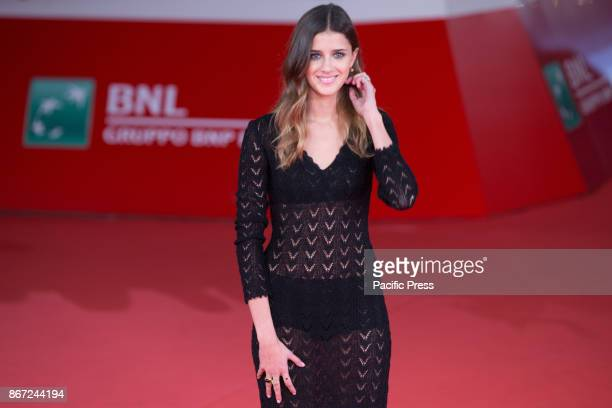 Italian actress Benedetta Porcaroli during the red carpet of the film Una Questione Privata directed by Vittorio and Paolo Taviani on the second day...