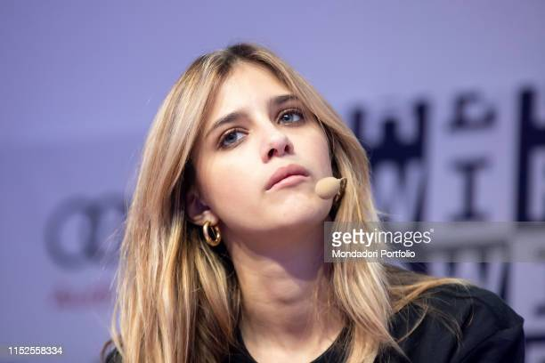 Italian actress Benedetta Porcaroli during the Wired Next Fest Milan May 26th 2019