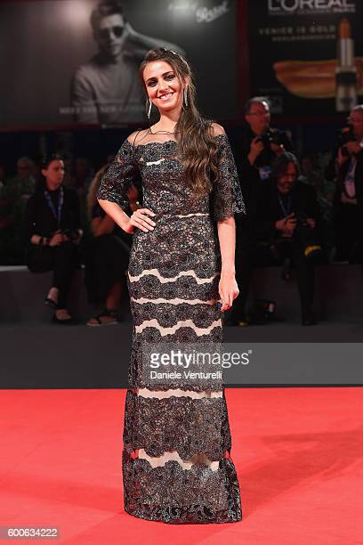 Italian actress Caterina Le Caselle attends the premiere of 'Questi Giorni' during the 73rd Venice Film Festival at Sala Grande on September 8 2016...
