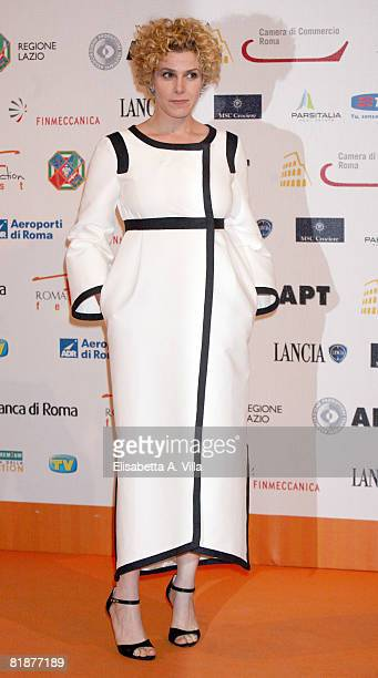 Italian actress Cecilia Dazzi attends the third day of Roma Fiction Festival 2008 on July 9 2008 in Rome Italy