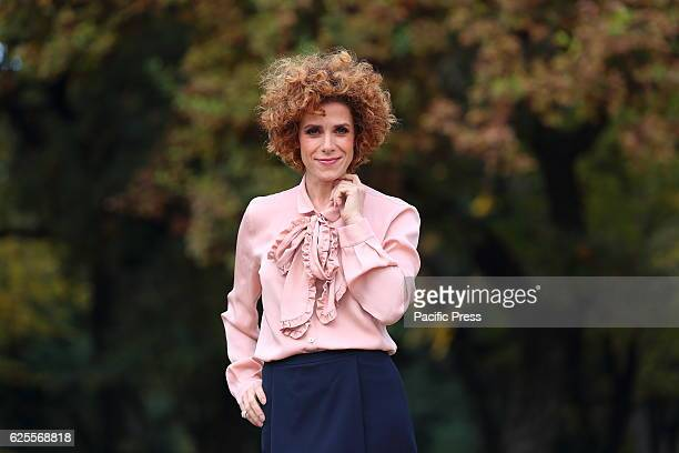 Italian actress Cecilia Dazzi during photocall of film L'amore Rubato directed by Irish Braschi