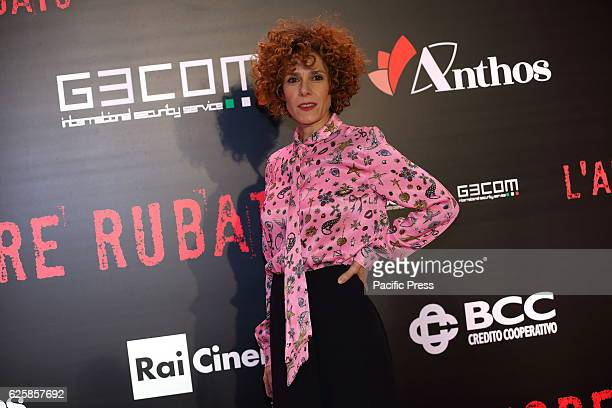 Italian actress Cecilia Dazzi during premiere of film L'amore Rubato directed by Irish Braschi