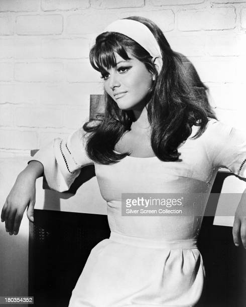 Italian actress Claudia Cardinale as Laura Califatti in 'Don't Make Waves' directed by Alexander Mackendrick 1967