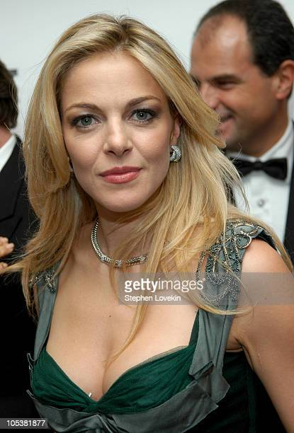 Italian actress Claudia Gerini during AmericanItalian Cancer Foundation Annual Benefit Gala at The Pierre Hotel in New York City New York United...