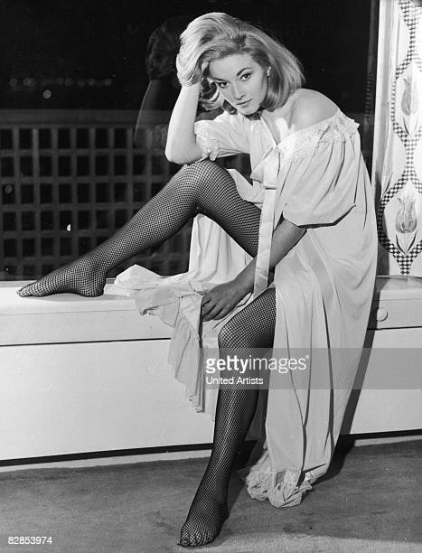 Italian actress Daniela Bianchi in a still from the James Bond film 'From Russia with Love' directed by Terence Young 1963