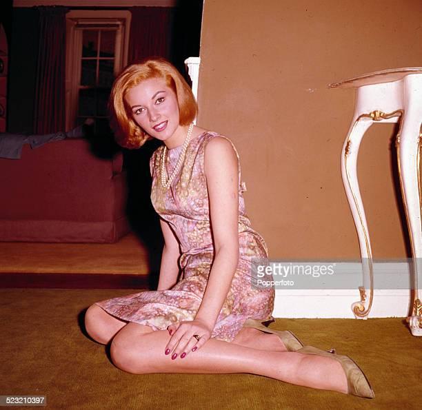 Italian actress Daniela Bianchi who plays Tatiana Romanova in the James Bond film From Russia With Love, in London in 1963.