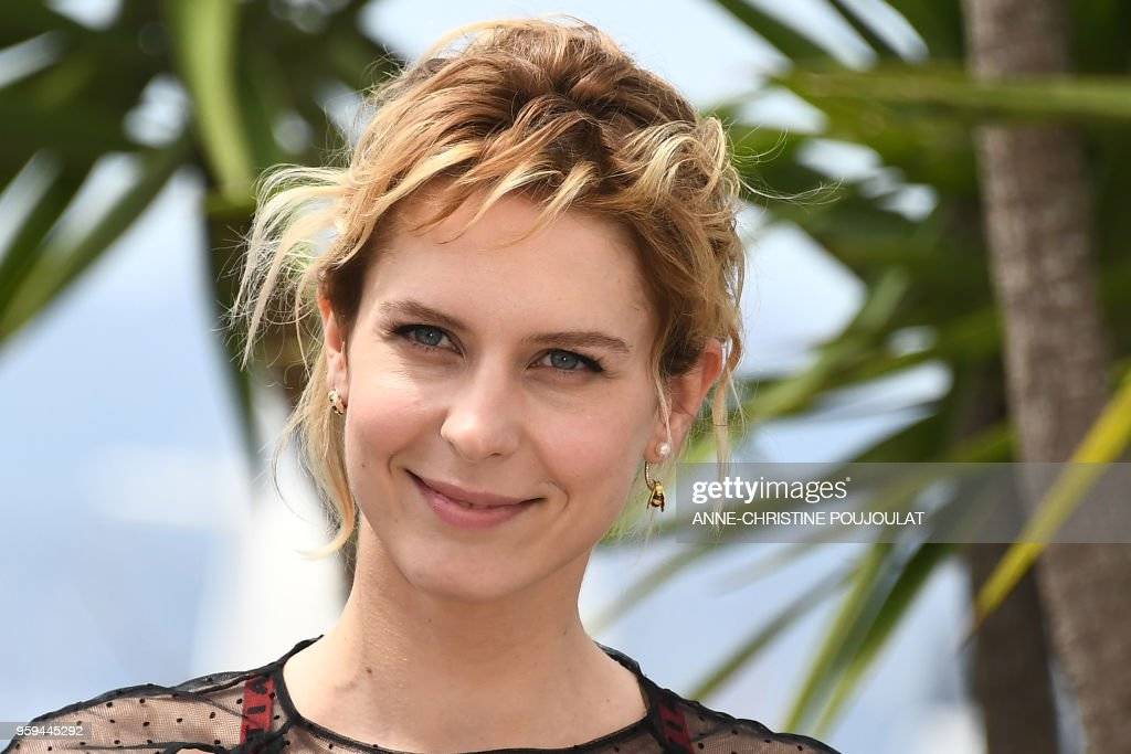 Italian actress Elena Radonicich poses on May 17, 2018 during a photocall for the film 'In My Room' at the 71st edition of the Cannes Film Festival in Cannes, southern France.