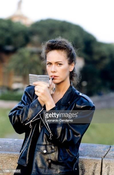 Italian actress Elena Sofia Ricci, Rome, Italy, 28th May 1996.