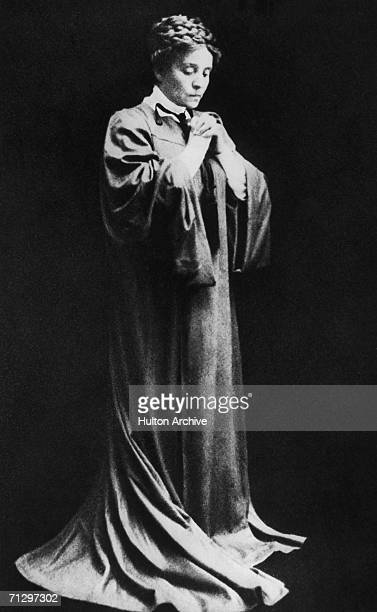 Italian actress Eleonora Duse as Rebecca West in Ibsen's 'Rosmersholm'm 1905