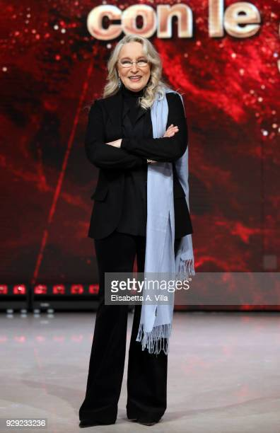 Italian actress Eleonora Giorgi attends a photocall for 'Ballando Con Le Stelle' at RAI Auditorium on March 8, 2018 in Rome, Italy.