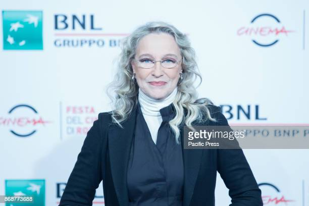 Italian actress Eleonora Giorgi during the photocall for the 30-year-old Italian film Borotalco on the sixth day of the Rome Film Festival.