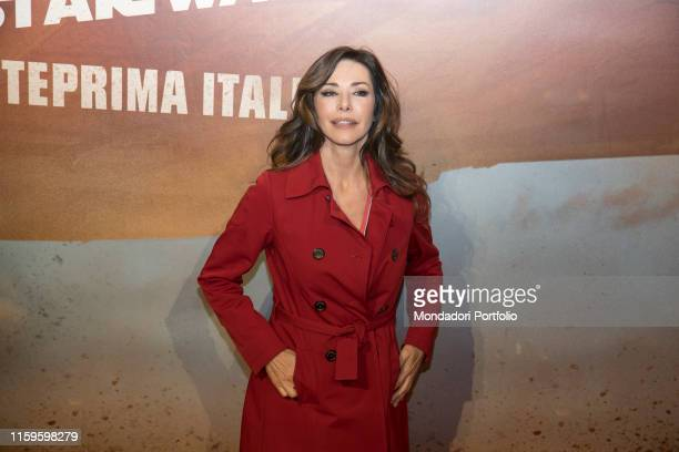 Italian actress Emanuela Folliero attend the italian premiere of SOLO a Star wars Story at Odeon Space cinema Milan May 22nd 2018