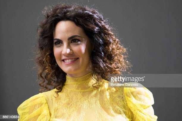 Italian actress Enrica Guidi attends Noir In Festival on December 4 2017 in Milan Italy