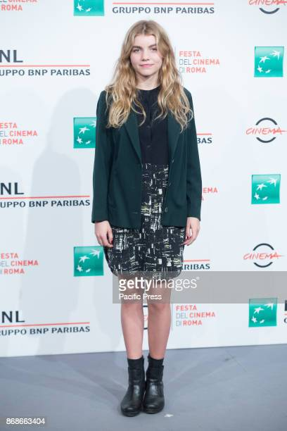 Italian actress Galatea Bellugi during the photocall of the Italian movie Il Ragazzo Invisible on the Sixth Day of the Rome Film Festival