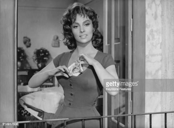 Italian actress Gina Lollobrigida as Marietta in the film 'La Legge' 1959