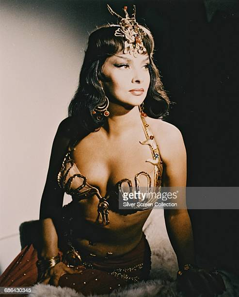 Italian actress Gina Lollobrigida as Sheba in the film 'Solomon and Sheba' 1959