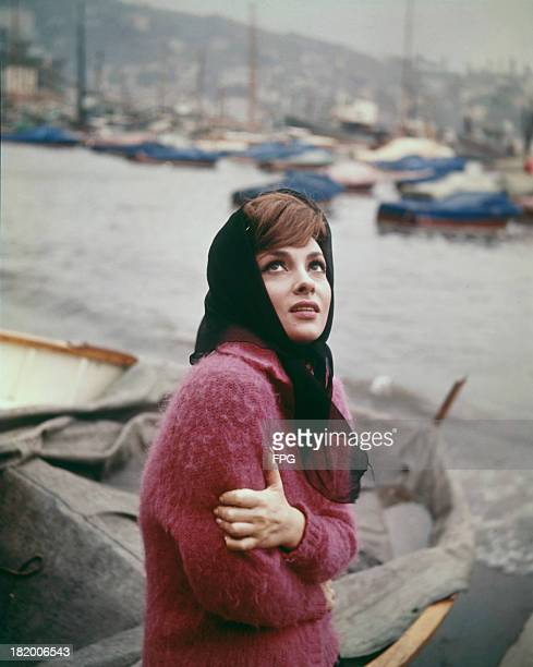Italian actress Gina Lollobrigida circa 1950