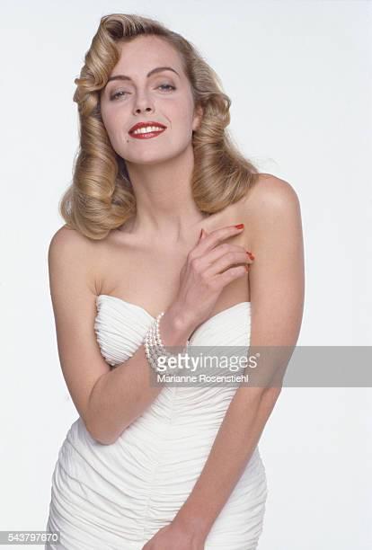 Italian actress Greta Scacchi