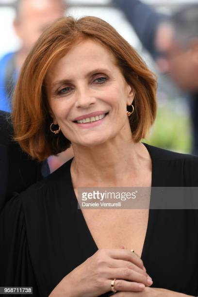 italian actress Isabella Ferrari attends the photocall for Euforia during the 71st annual Cannes Film Festival at Palais des Festivals on May 15 2018...