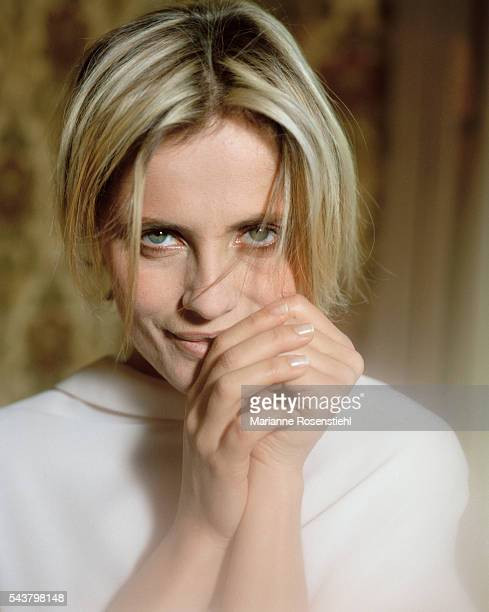 Italian actress Isabella Ferrari.