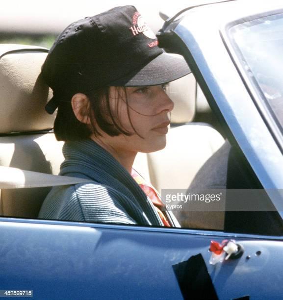 Italian actress Isabella Rossellini, circa 1988.