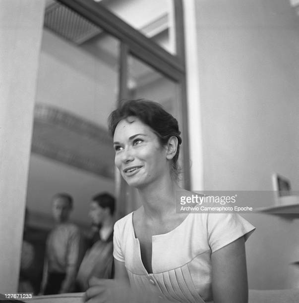 Italian actress Lea Massari Venice 1957