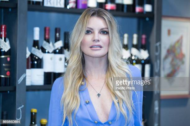"Italian actress Licia Nunez during the Photocall in Rome of Italian Fiction Mediaset ""The Three Roses of Eve 4"" produced by Endemol Shine, Italy."