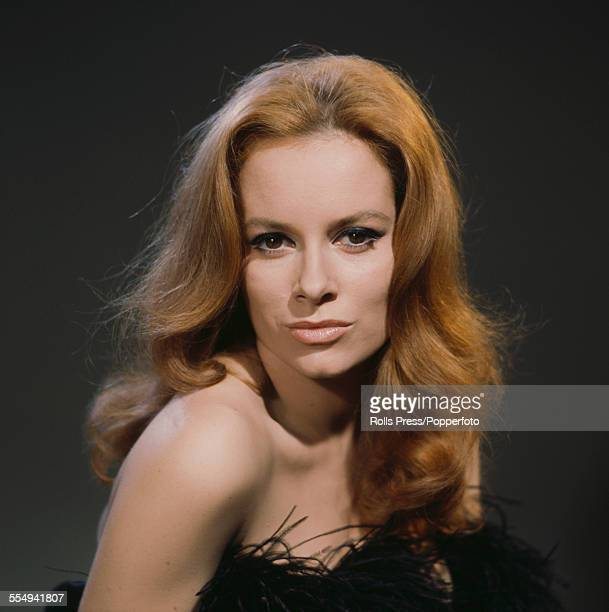 Italian actress Luciana Paluzzi, who plays the character of Fiona Volpe in the James Bond film 'Thunderball', posed circa 1965.