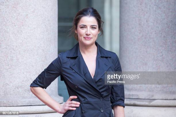 Italian actress Luisa Ranieri during photocall of the Italian film 'Napoli Velata'