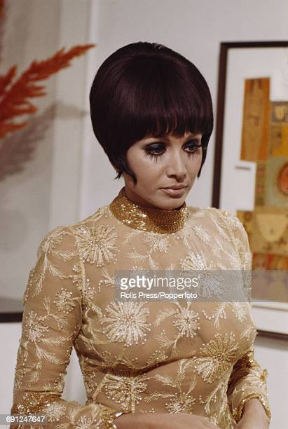 Italian actress Maria Grazia Buccella dressed in character as Tonino during production of the film 'Where Are You Going All Naked' in Rome Italy on...