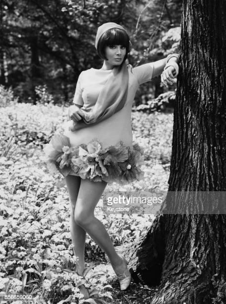 Italian actress Maria Grazia Buccella Italy 19th June 1968