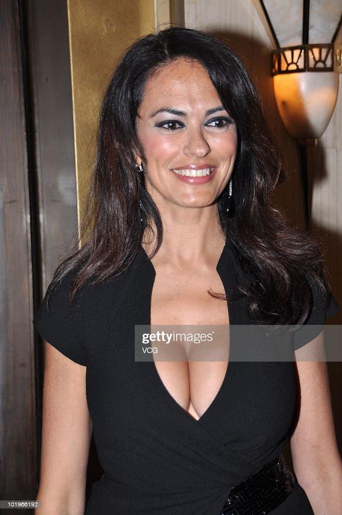 Maria Grazia Cucinotta Attends Shanghai TV Festival
