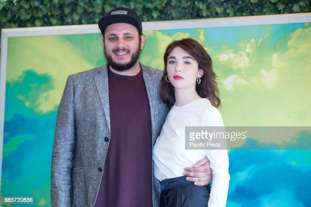 Italian actress Matilda De Angelis and Italian singer Marco Zitelli during the Photocall of the Italian movie 'Il Premio' directed by Alessandro...