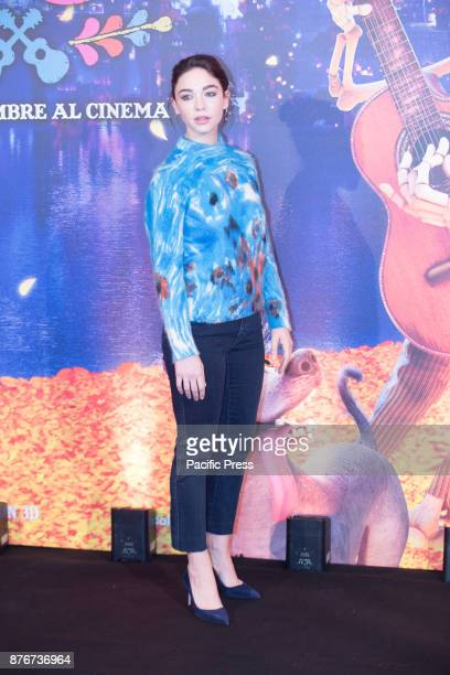 Italian actress Matilda De Angelis during photocall in Rome at Hotel De Russie of Disney Pixar Coco movie