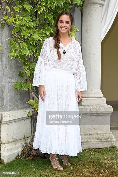 Italian actress Matilde Gioli is seen during the 73rd Venice Film Festival on September 7 2016 in Venice Italy