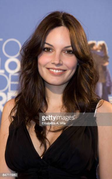 Italian actress Michela Quattrociocche attends Questo Piccolo Grande Amore charity premiere at Embassy Cinema on February 9 2009 in Rome Italy