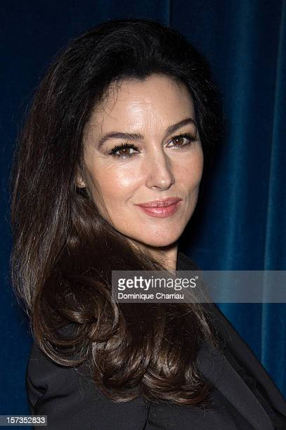 Italian Actress Monica Bellucci attends the 'Rhino Season' Photocall during the 12th International Marrakech Film Festival on December 2 2012 in...