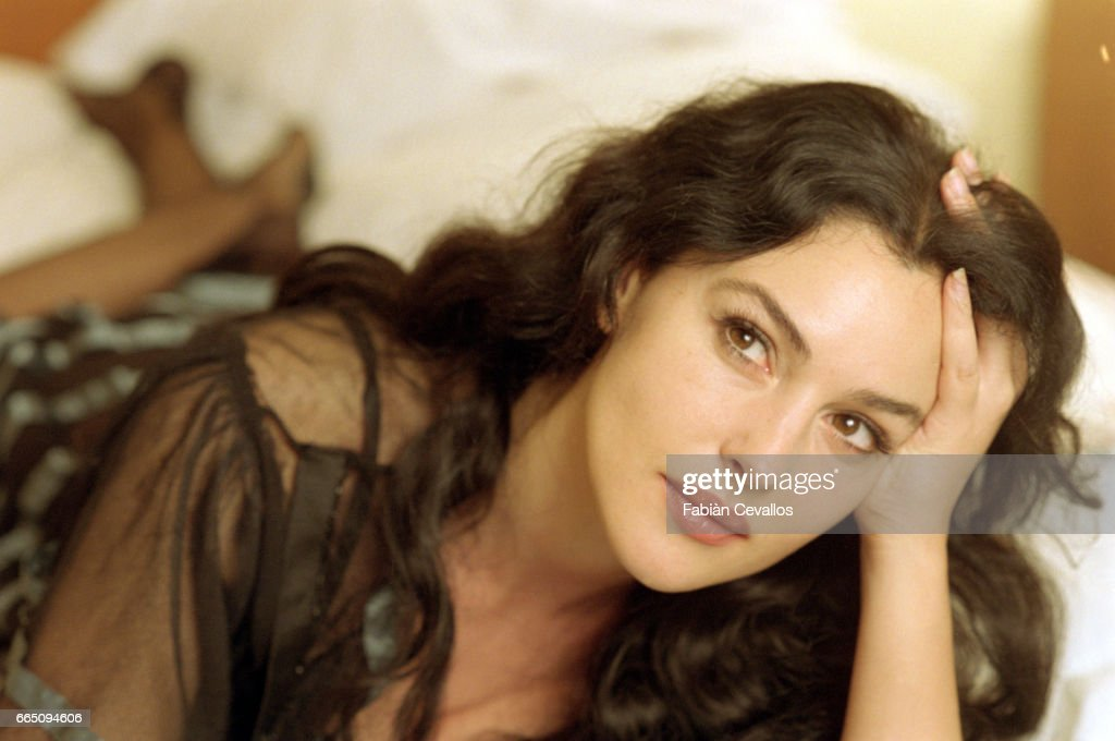 Monica Bellucci On The Set Of The Movie Malena