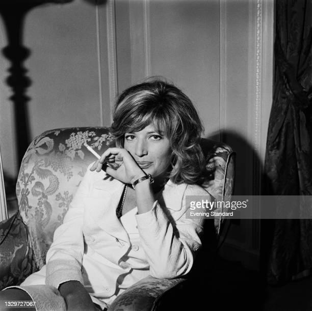 Italian actress Monica Vitti, UK, 9th June 1965.